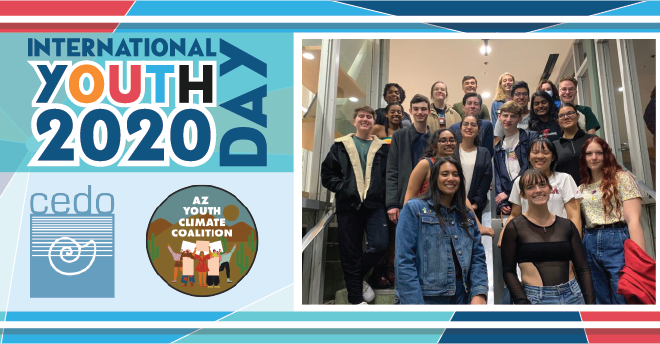 international youth day 2020 banner