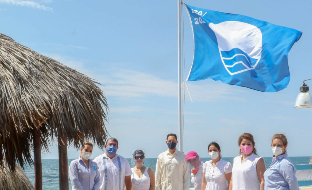 Ceremonia Blue Flag México Playa Mirador