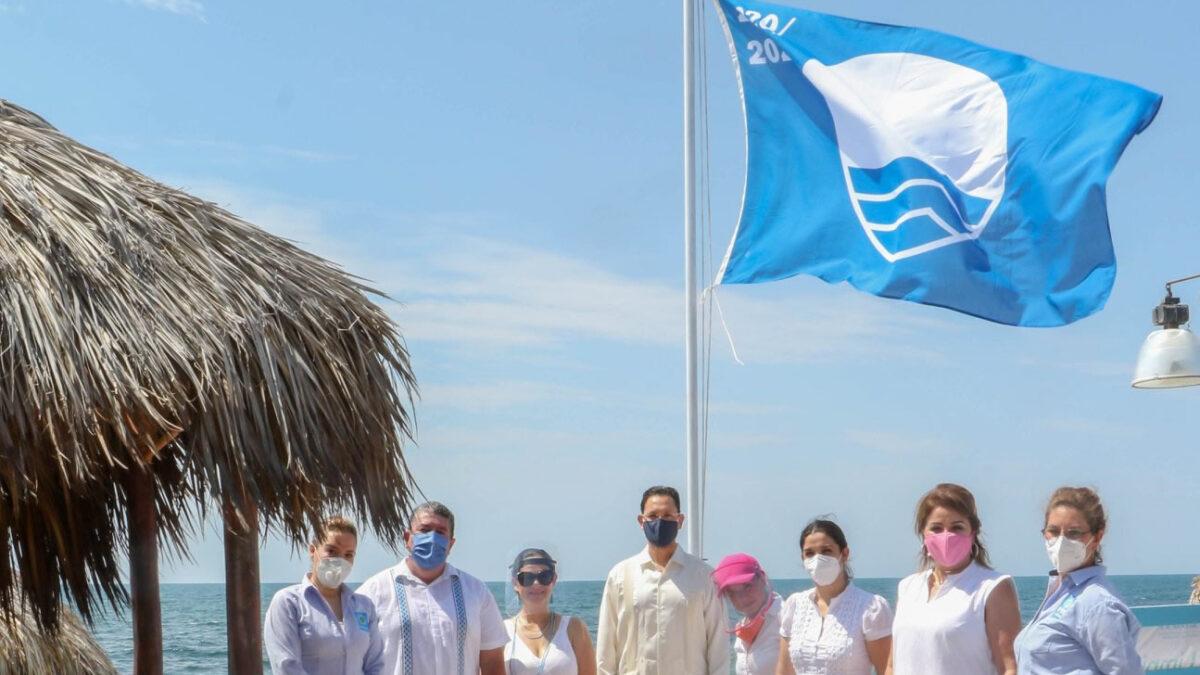 Ceremonia Blue Flag México Playa Mirador