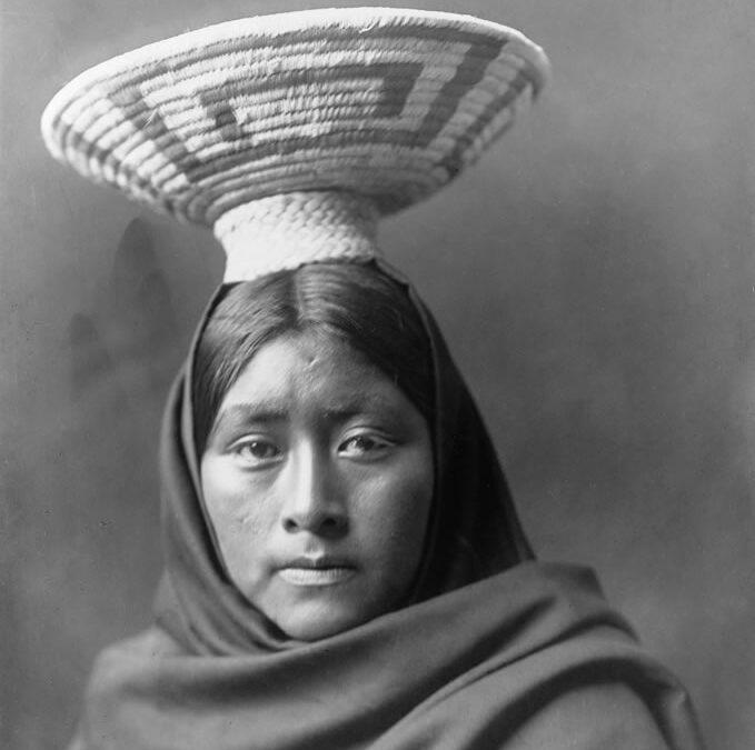 Mujer Tohono-Oodham