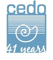 CEDO 41 years logo