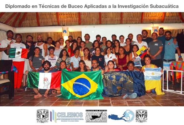 Diplomado enTécnicas de Buceo Aplicadas a la Investigación Subacuática