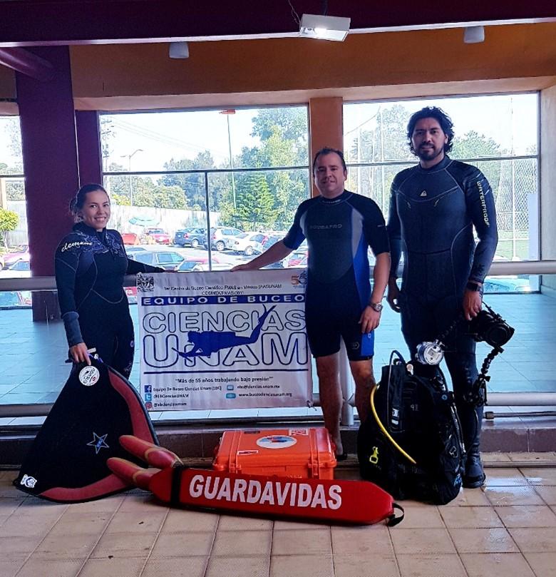 Science Diving Team, UNAM