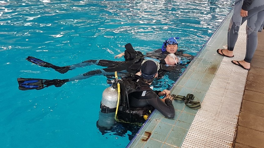 Science Diving Team UNAM, Mexico, 2017